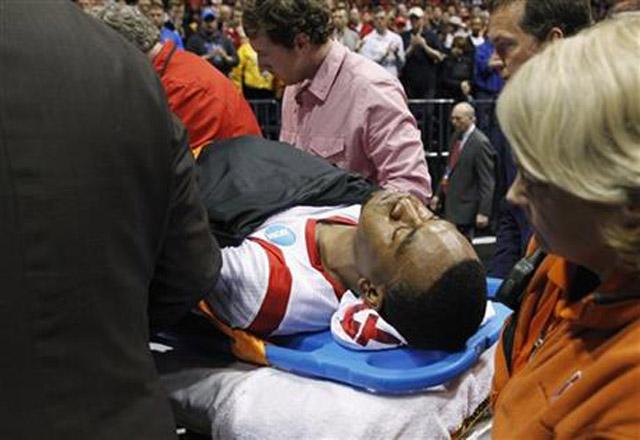 worst injury in basketball, kevin ware injury