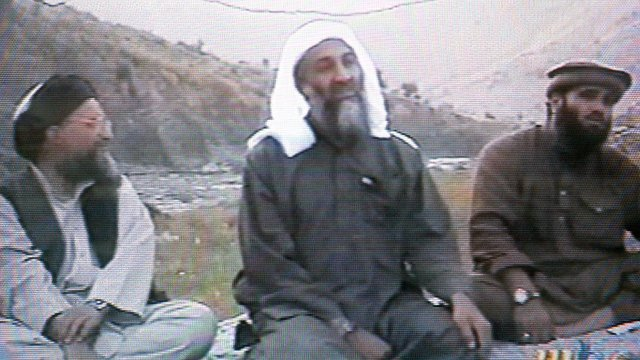 Abu Ghaith and Bin Laden