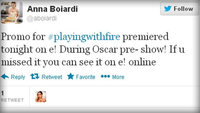 Anna Boiardi's Twitter