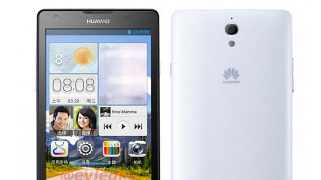 Leaked images of Huawei Ascend G700
