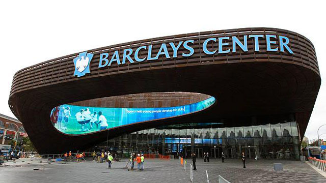 The 2013 MTV Video Music Awards will be at Brooklyn's Barclays Center