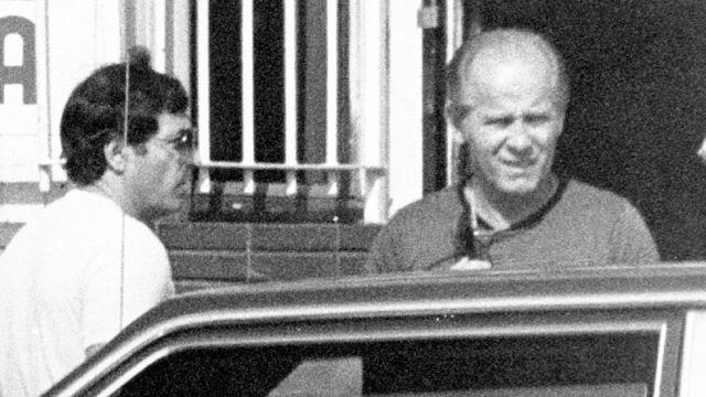 JAMES whitey BULGER and STEVE  FLEMMI, left.