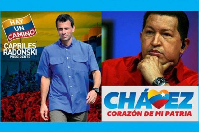 Hugo and Capriles