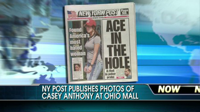 Casey Anthony Front Page