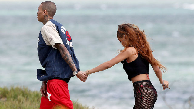 Rihanna's Birthday in Hawaii with Chris Brown