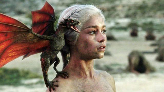Game of Thrones Season 2 box set, Daenerys Targaryan, dragons