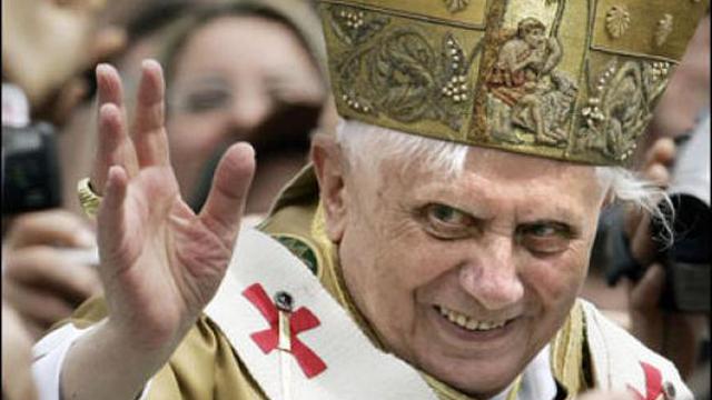 pope evil vatican weird