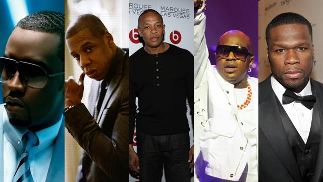 Forbes Five Hip Hop Artists