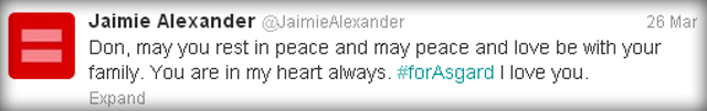 Jaimie Alexander's Twitter