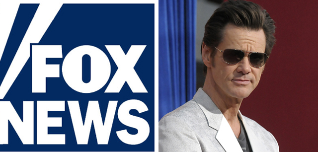 Jim Carrey Fox News