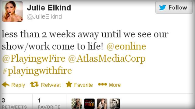 Julie Elkind's Twitter