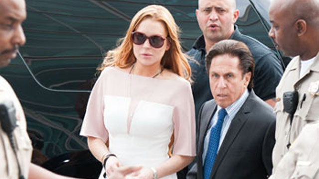 Lindsay Lohan showed up late to court, where she pleaded guilty and received 18 months psychotherapy and 90 days rehab