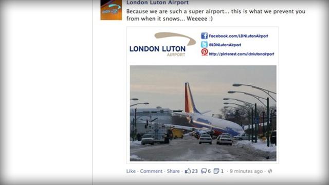 London Luton Facebook