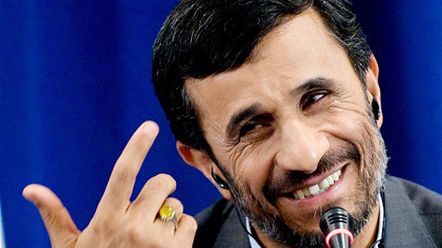 Mahmoud Ahmadinejad was criticized for hugging Hugo Chavez' mother at her sons funeral