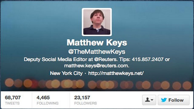 Matthew Keys Indicted, Reuters, Anonymous