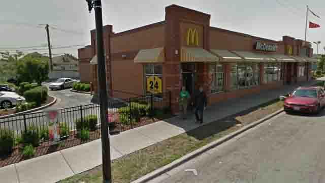 Toddler eats used condom McDonalds