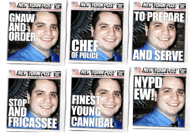 cannibal cop ny post covers
