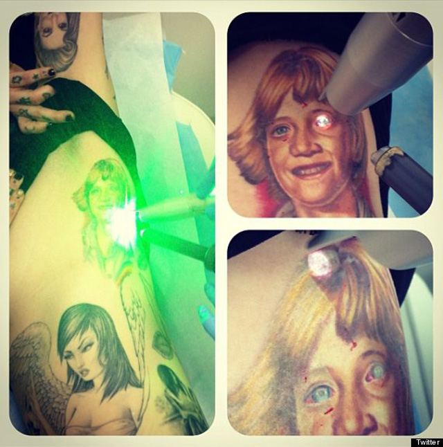 Kat von D tattoo james jesse
