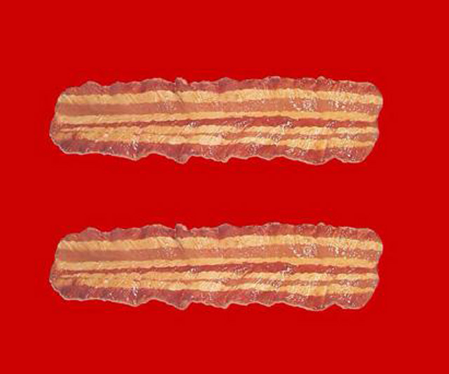 equality sign facebook gay marriage bacon