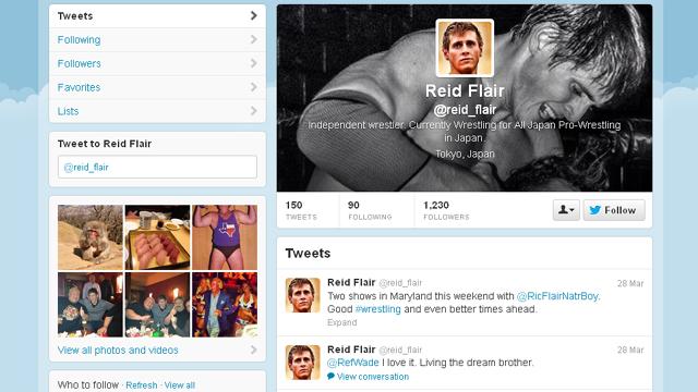 Reid Flair dies Ric Flair Son Dies Reid Flair Ric Flair