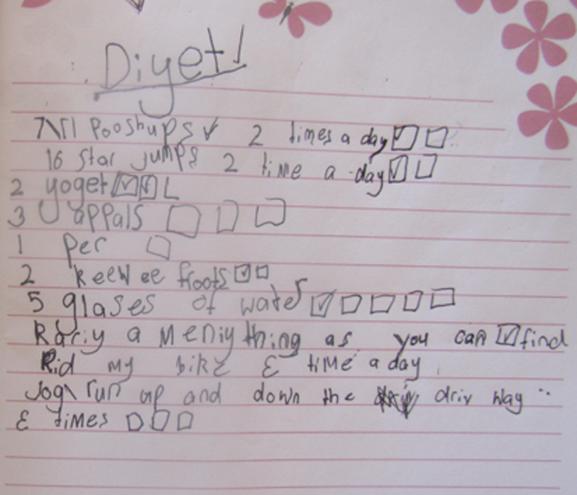seven year old diet plan weight loss america