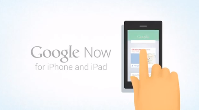 Google Now for iOS video