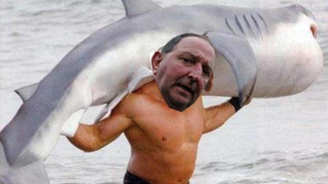 Paul Marshallsea: Shark Wrestler