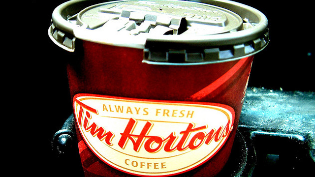 Tim hortons, tim horton's, tim horton's roll up the rim to win, woman gets proposal on coffee cup, woman rolls up tim horton's coffee cup proposal, tim horton's proposal, Toronto, Ontario, Canada, etobicoke, Jaimie Baisley, Jeff Chapman, wedding proposal, cute wedding proposal, tim hortons proposal, tim horton's proposal, roll up the rim to win proposal, roll up the rim proposal, coffee cup proposal, woman proposed to at tim horton's, woman proposed to at tim hortons, proposal on roll up the rim, roll up the rim prizes, weird news, coffee proposals, twitter,