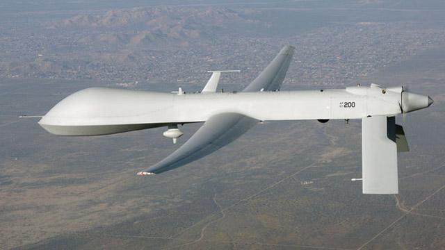 Unarmed-Predator-Drone