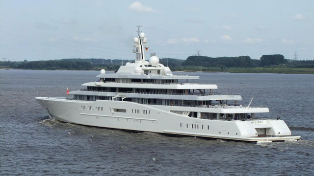 Roman Abramovich owns Eclipse, worlds biggest yacht