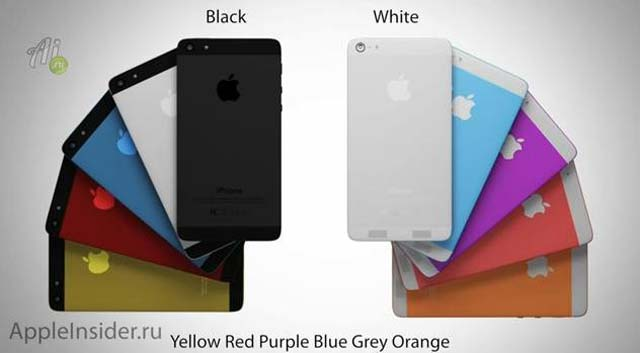 iphone 6 rumors, iphone 6 different colors