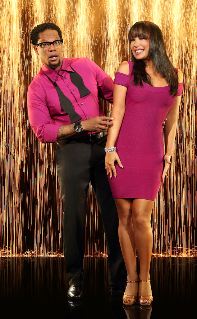DL Hughley, DWTS, Dancing With The Stars, Cheryl Burke,