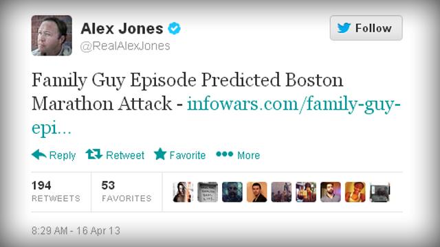 Alex Jones' Twitter