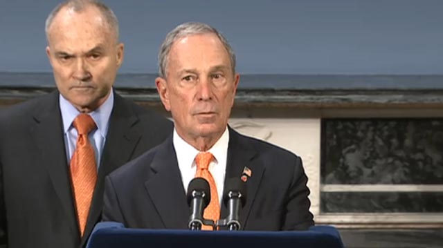 Watch live Mayor Bloomberg Press Conference on Boston Bombers, Dzhokhar and Tamerland Tsarnaev were targeting NYC.