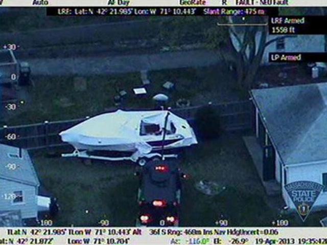 New Photos of Dzhokhar Tsarnaev Hiding in Boat in Watertown