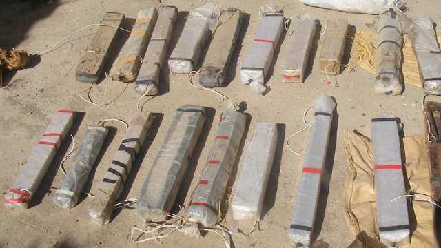 BRF operation results in IED and weapons find