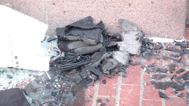 New Pictures of the Bomb Fragments from the Boston Marathon Explosion Photo via Joint Terrorism Task Force