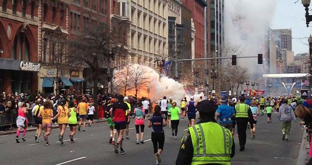 Image of last weeks Boston Bombing