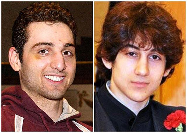 Tamerlan Tsarnaev (left) and Dzhokhar Tsarnaev