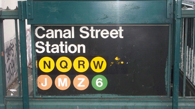 canal street, subway, woman hit, train, mta