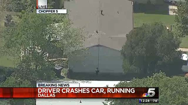man kills pregnant girlfriend car chase dallas