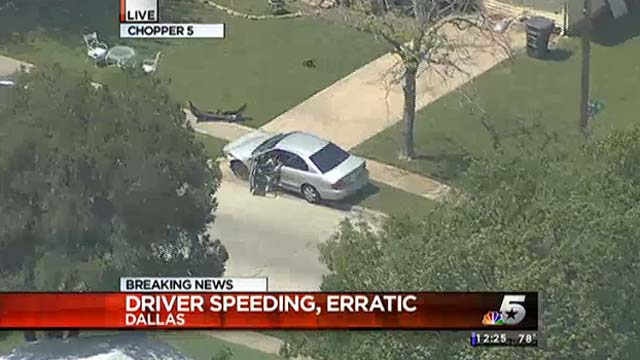 Car chase suspect