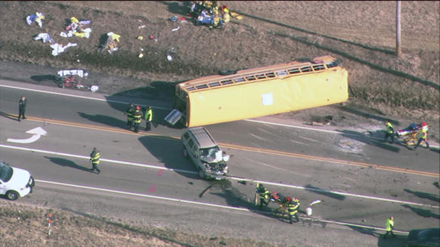 chicago school bus crash