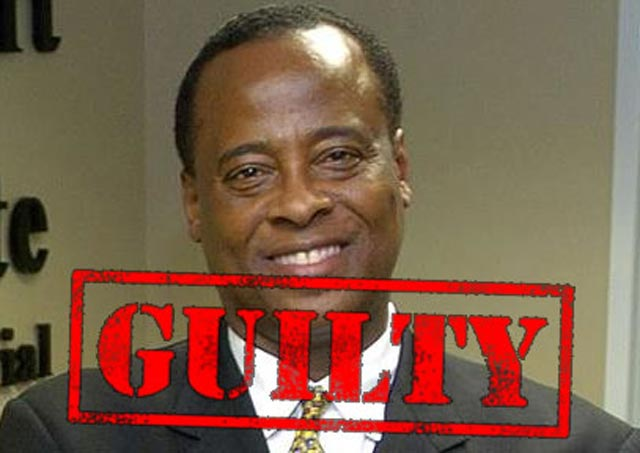 dr conrad murray guilty