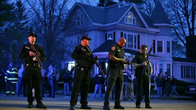 Dzhokhar Tsarnaev Caught