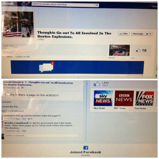 Boston Marathon Bombing Conspiracy