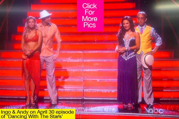 DWTS, DWTS Elimination, Results, Dancing With The Stars, AndyDick