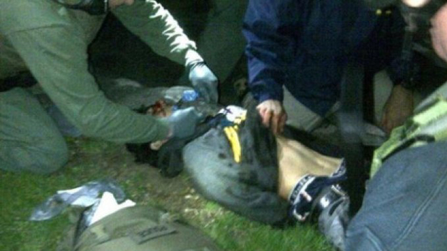 Dzhokhar Tsarnaev Captured