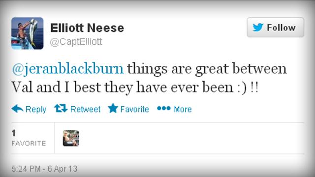 Elliott Neese's Tweet