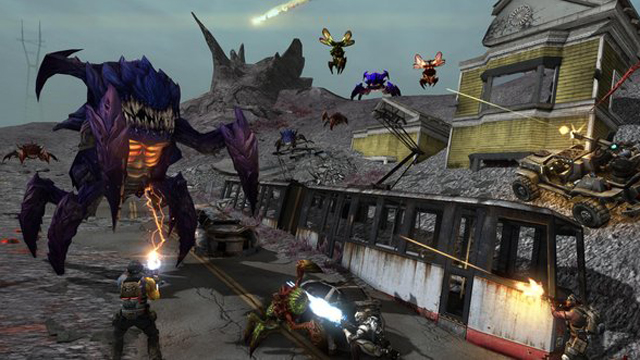 Defiance Video Game Review